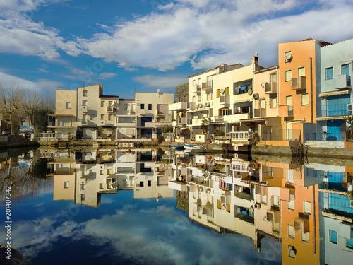 Foto Murales Reflejo en el canal