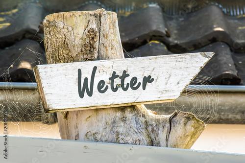 Schild 247 - Wetter