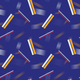Abstract 3d lines geometric seamless pattern. Business geometry series.