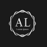 Initial Letter AL Logo Tempalate - 201445519