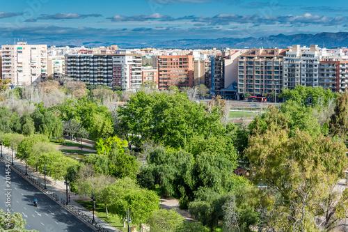 Turia Gardens Park, Valencia, Spain