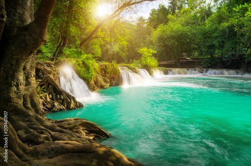 Fototapeta Chet-Sao-Noi waterfall