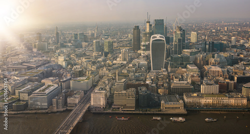 aerial view cityscape of london - 201463764