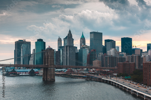 Foto Murales New-York skyline
