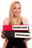 Gesetzliche Rente - Private Vorsorge  - 201478398