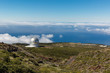 The view to the observatorium, Caldera de Taburiente, La Palma island. - 201484194