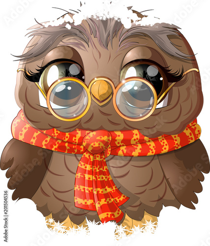 beautiful owl drawing