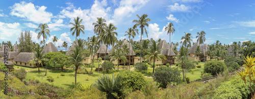 In de dag Zanzibar Zanzibar Panorama
