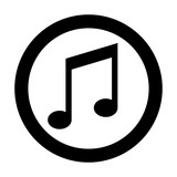 Vector music Icon note  - 201545395