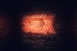 Sex neon sign