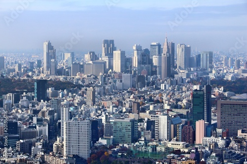 Plexiglas Tokio Shinjuku Ward, Tokyo