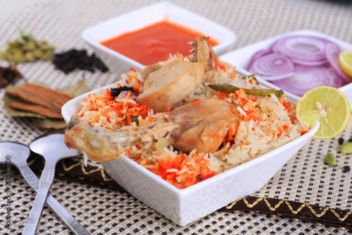 Chicken biryani - 201588700