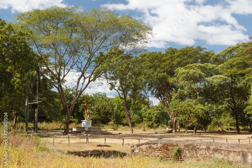 Ruins of Leon Viejo, UNESCO Heritage site, Nicaragua - 201601504