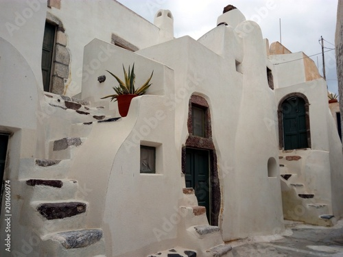 Emporio architecture, Santorini, Greece