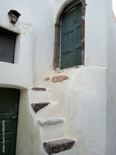 Emporio architecture, Santorini, Greece - 201606996
