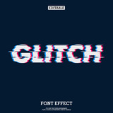 error glitch font effect - 201609100