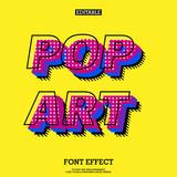 Modern Pop Art Font Effect