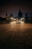 Charles Bridge at night - 201623715