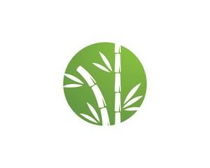 bamboo logo template © ahmadwahyu27