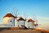Mykonos windmill sunset - 201626985