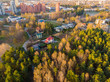 aerial view of imanta riga small forest - 201642955