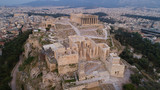 Aerial view of Acropolis of Athens ancient citadel in Greece - 201686716