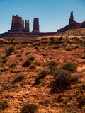 Monument Valley Along the Utah and Arizona Border