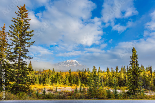 Foto Murales Morning in the Rocky Mountains