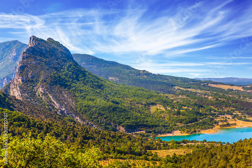 Foto Murales Canyon and river Verdon