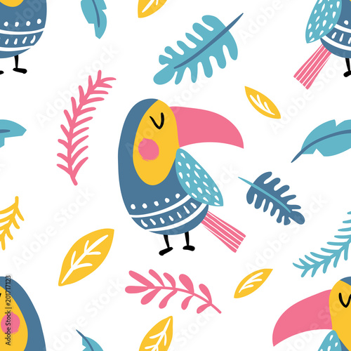 toucan pattern - 201717123