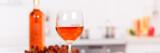 Rose wine banner copyspace - 201718543