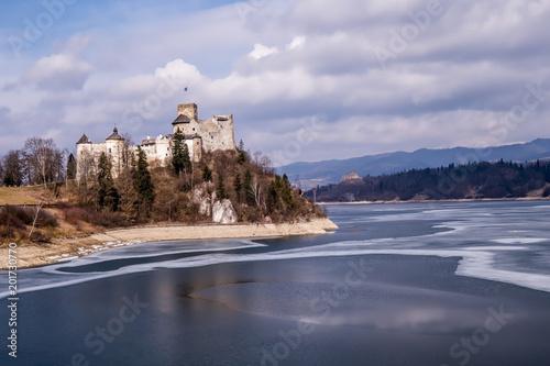 Foto Murales Widok na Zamek w Niedzicy i Jezioro Czorsztyńskie