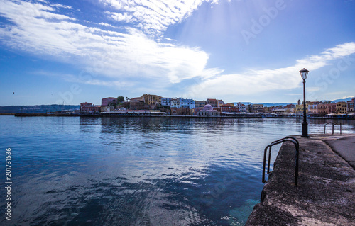 View of the old port of Chania, Crete © zbg2