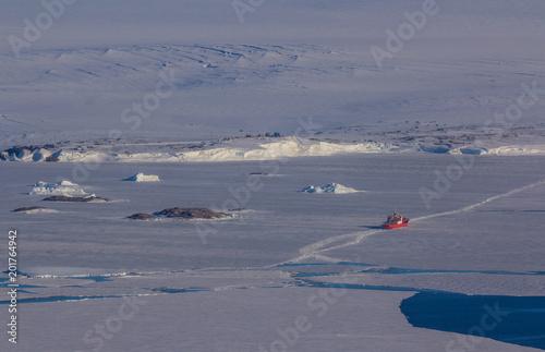 Fotobehang Lavendel iceberg