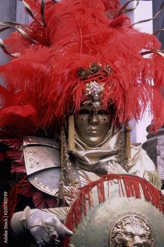 Plexiglas Boeddha Carnevale di Venezia, Maschere