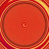 circle background illustration in red and orange colors - 201785900