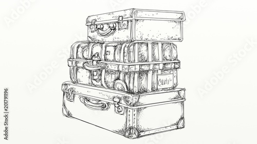 suitcase 50 years to leave
