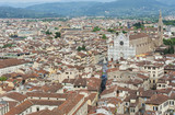 Aerial view of Florence, Tuscany, Italy