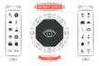 Eye icon - line concept - 201808988