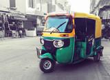 Fototapety tuk tuk taxi on the street