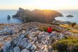 Leinwanddruck Bild - Cap de Formentor auf Mallorca