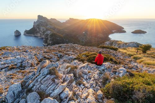 Leinwanddruck Bild Cap de Formentor auf Mallorca