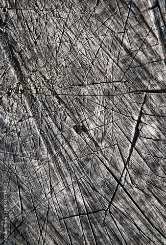 stare-drewno-czarno-biale-z-bliska