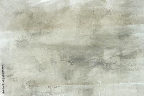 Poster grungy painting draft on canvas background or texture