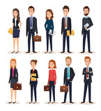 group of people human resources vector illustration design - 201873583
