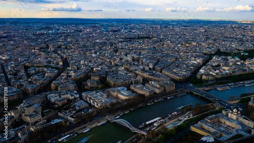 Poster Paryż panorama