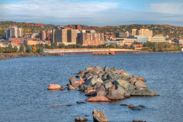 Duluth is a popular Tourist Destination in the Upper Midwest on the Shores of Lake Superior in Far North Minnesota