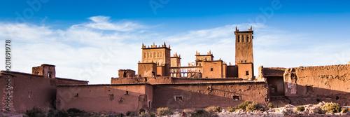 Alte historische ruinen stadt in Marokko casbah