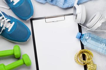 Fitness concept © karandaev