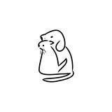 cat and dog logo - 201916765